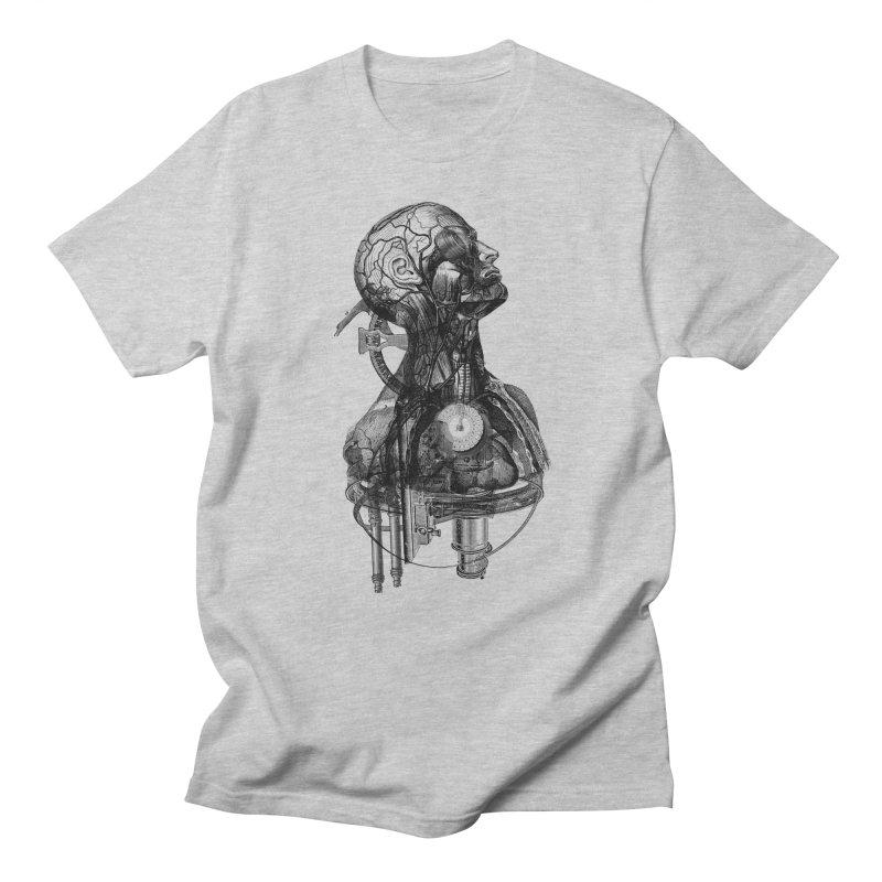 Frankenstein Men's T-shirt by Alex Eckman-Lawn
