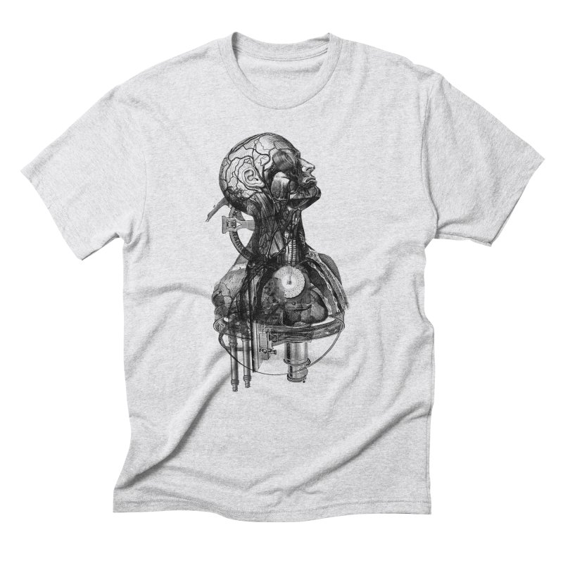 Frankenstein Men's Triblend T-Shirt by Alex Eckman-Lawn