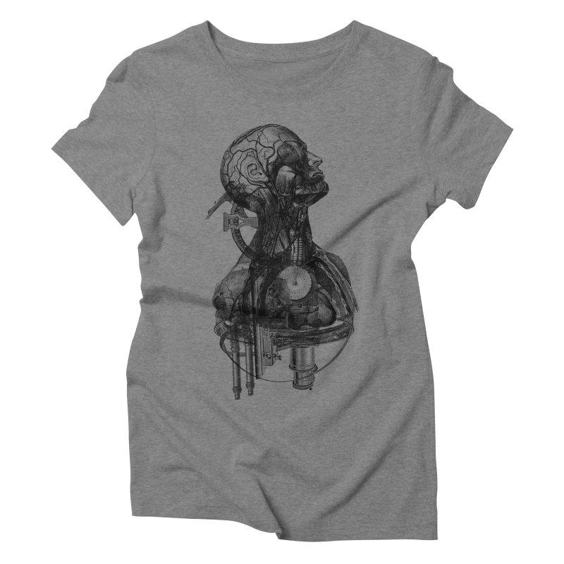Frankenstein Women's Triblend T-shirt by Alex Eckman-Lawn