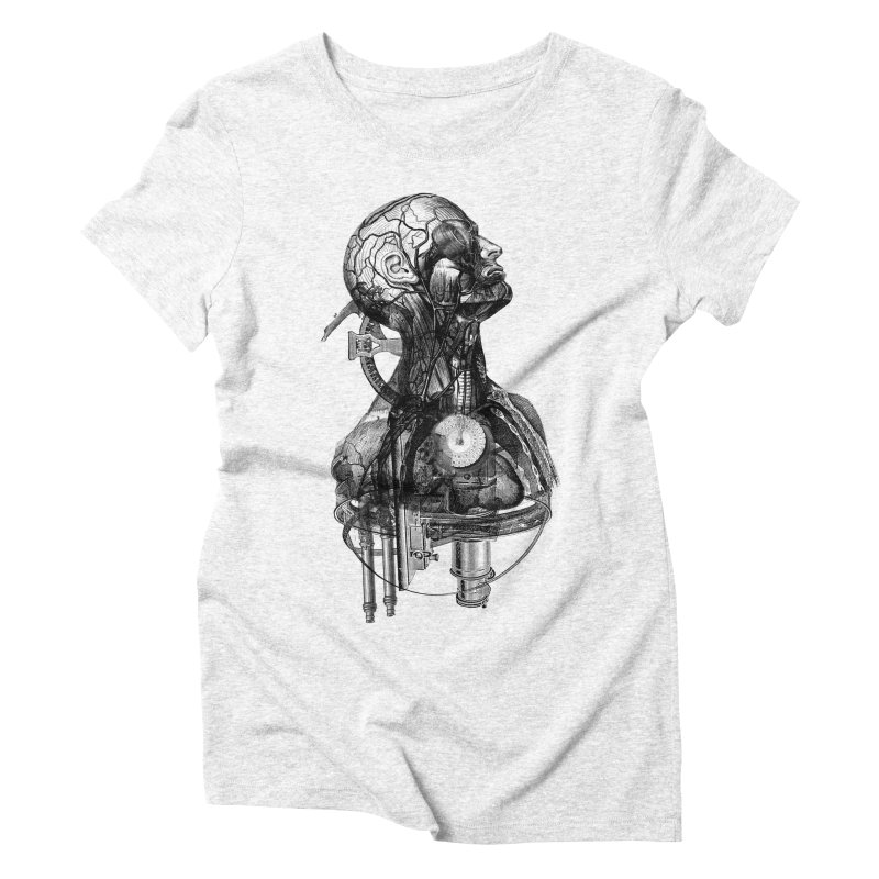 Frankenstein Women's Triblend T-shirt by Alex Eckman-Lawn