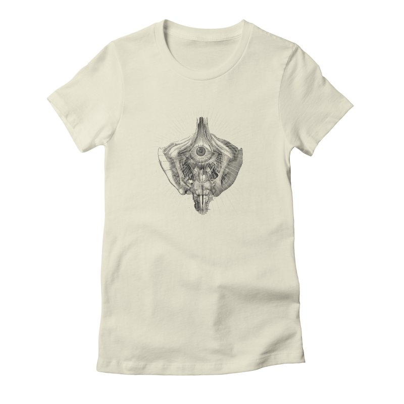 Nihilist Women's Fitted T-Shirt by Alex Eckman-Lawn