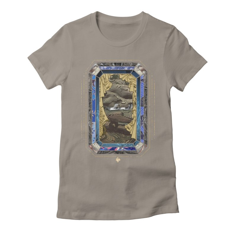 Somehow I Never Thought Women's Fitted T-Shirt by Alex Eckman-Lawn