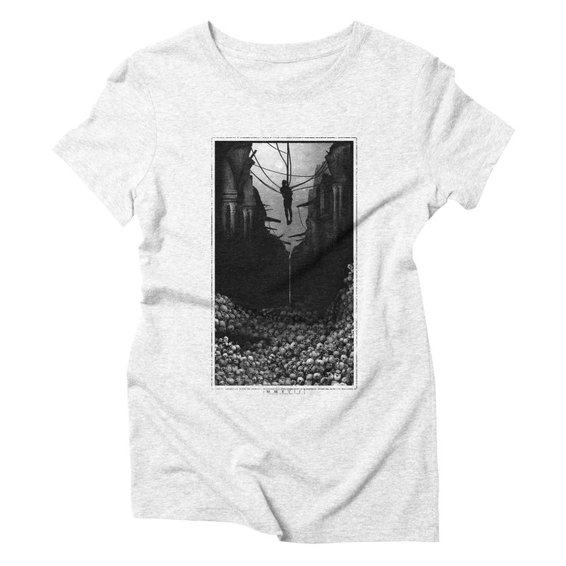 2017 Women's Triblend T-shirt by Alex Eckman-Lawn
