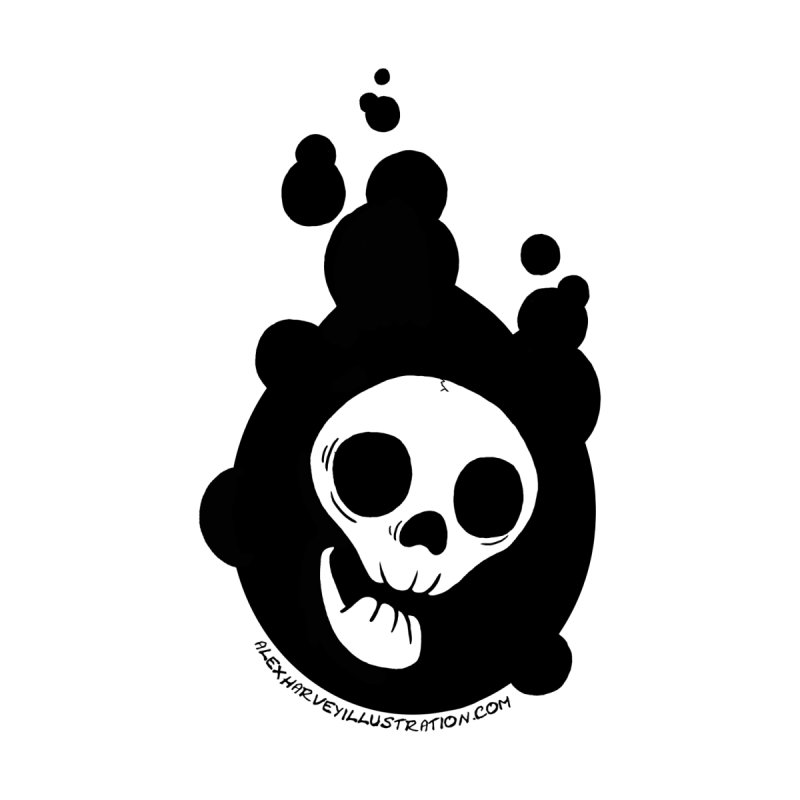 Alex Harvey Illustration T-shirt by Bloodworks