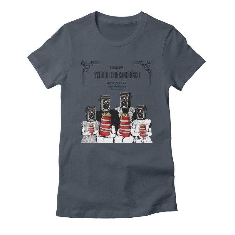 Terror Consanguíneo Women's Fitted T-Shirt by Alexis Patino's shop