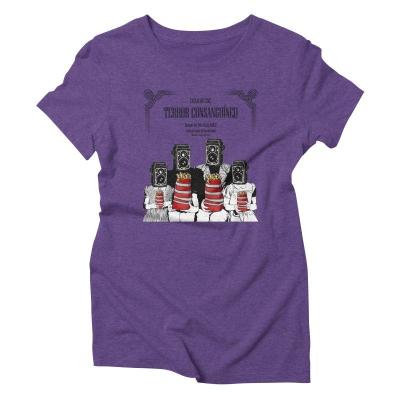 Terror Consanguíneo Women's Triblend T-Shirt by Alexis Patino's shop