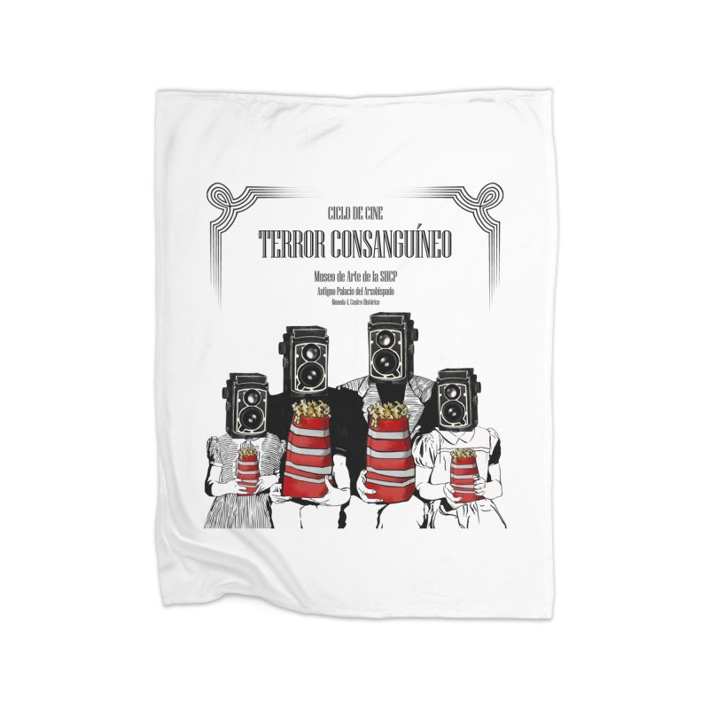 Terror Consanguíneo Home Blanket by Alexis Patino's shop
