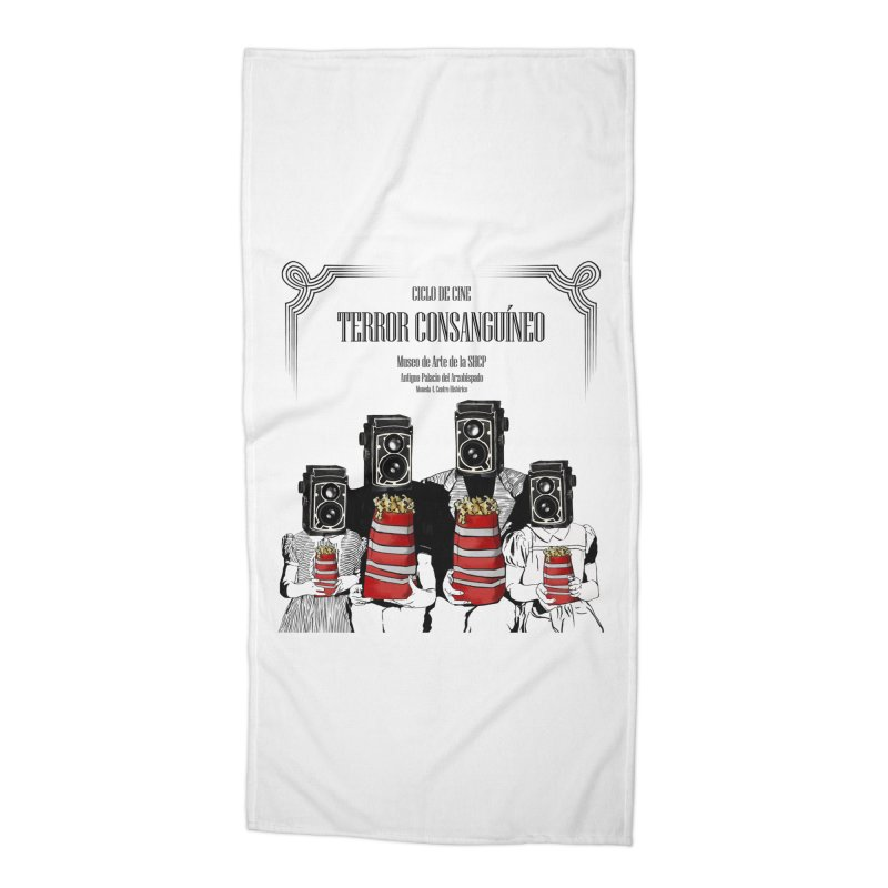 Terror Consanguíneo Accessories Beach Towel by Alexis Patino's shop