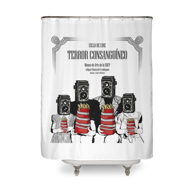 Terror Consanguíneo Home Shower Curtain by Alexis Patino's shop