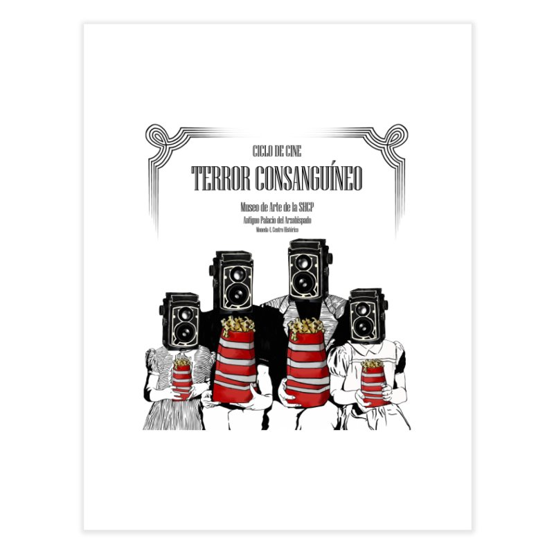 Terror Consanguíneo Home Fine Art Print by Alexis Patino's shop