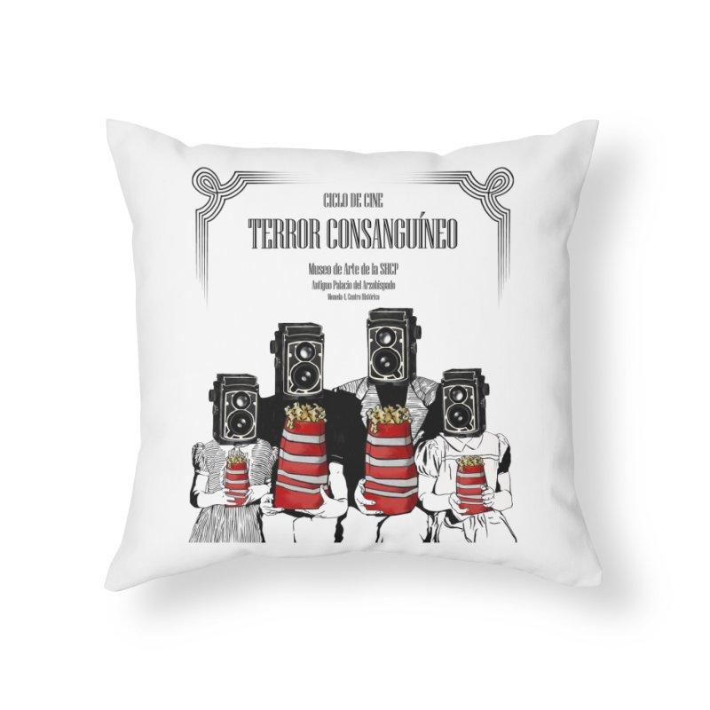 Terror Consanguíneo Home Throw Pillow by Alexis Patino's shop