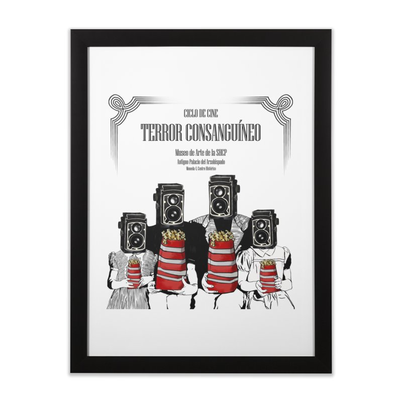 Terror Consanguíneo Home Framed Fine Art Print by Alexis Patino's shop