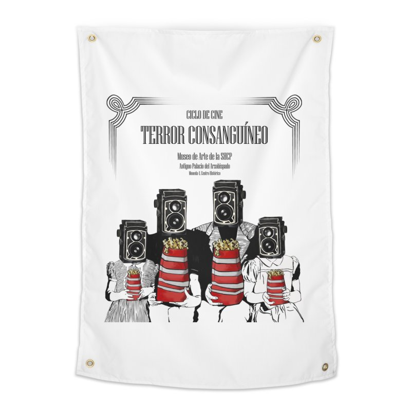 Terror Consanguíneo Home Tapestry by Alexis Patino's shop