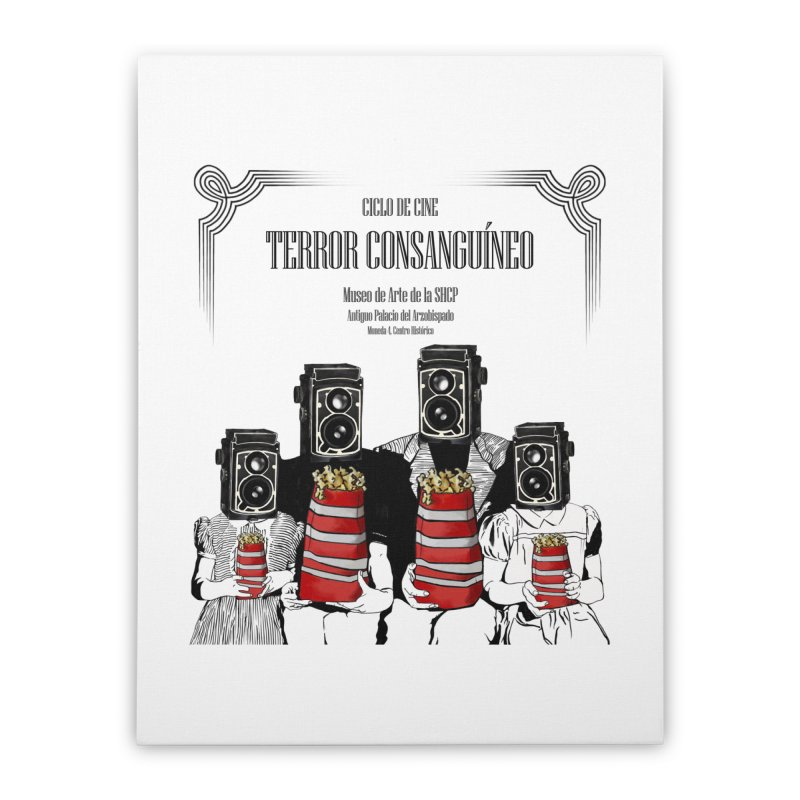 Terror Consanguíneo Home Stretched Canvas by Alexis Patino's shop