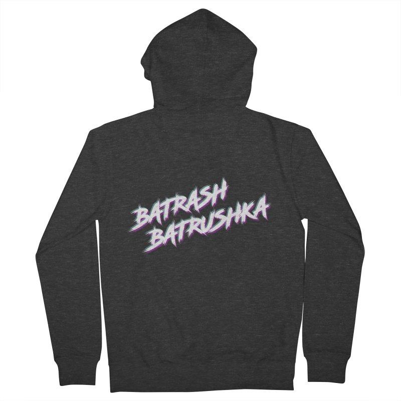 Batrashbatrushka-cyan-magenta Women's Zip-Up Hoody by Alexis Patino's shop