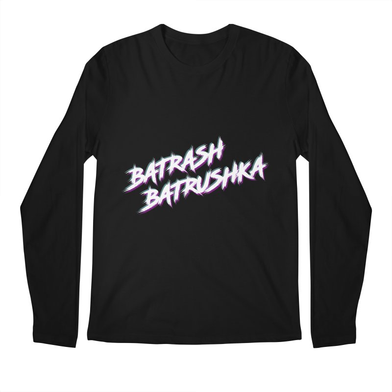 Batrashbatrushka-cyan-magenta Men's Longsleeve T-Shirt by Alexis Patino's shop