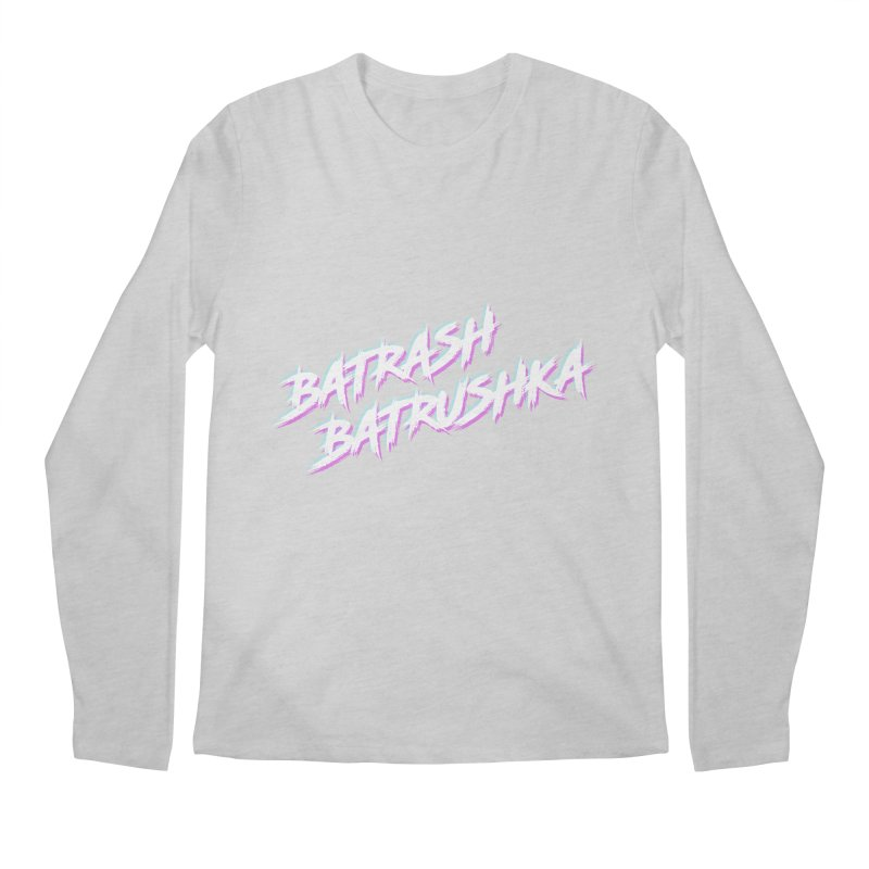 Batrashbatrushka-cyan-magenta Men's Longsleeve T-Shirt by Alexis Patino's shop