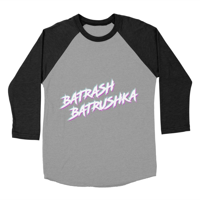 Batrashbatrushka-cyan-magenta Men's Baseball Triblend T-Shirt by Alexis Patino's shop
