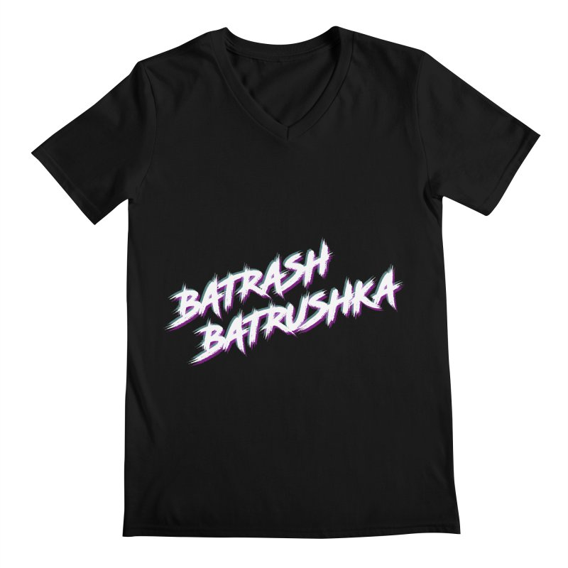 Batrashbatrushka-cyan-magenta Men's V-Neck by Alexis Patino's shop
