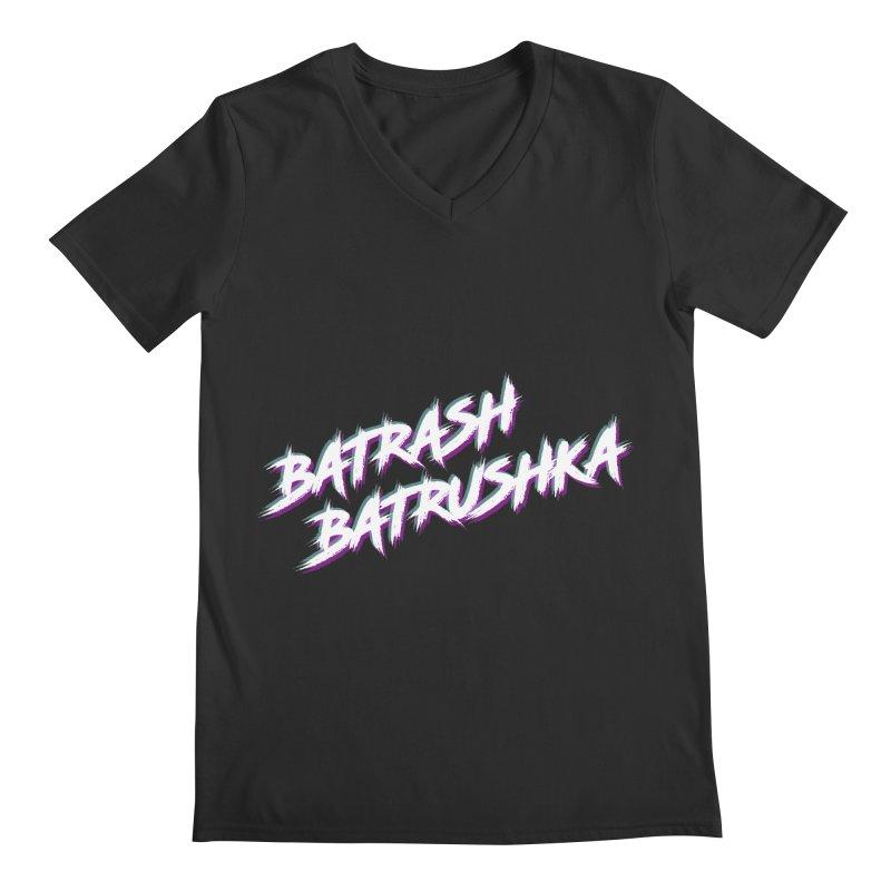 Batrashbatrushka-cyan-magenta Men's V-Neck by Alexis Patino's shop