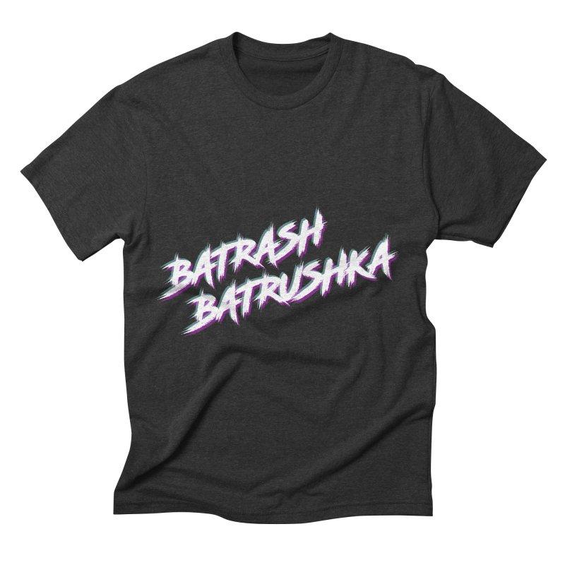 Batrashbatrushka-cyan-magenta Men's Triblend T-shirt by Alexis Patino's shop