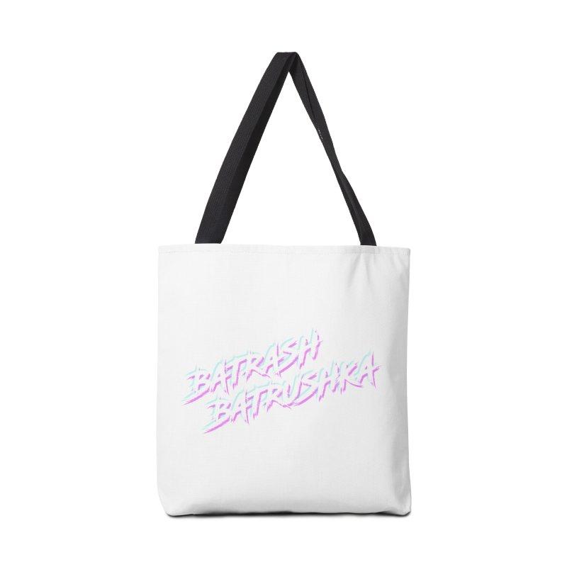 Batrashbatrushka-cyan-magenta Accessories Bag by Alexis Patino's shop