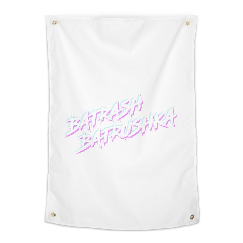 Batrashbatrushka-cyan-magenta Home Tapestry by Alexis Patino's shop