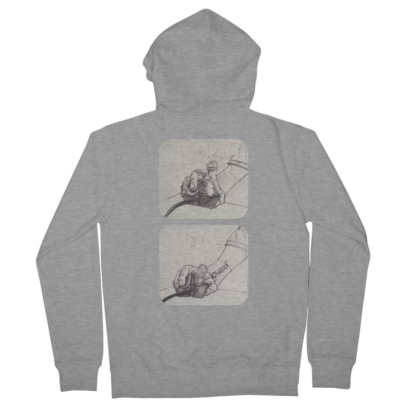 Click Me! Men's Zip-Up Hoody by Alexis Patino's shop