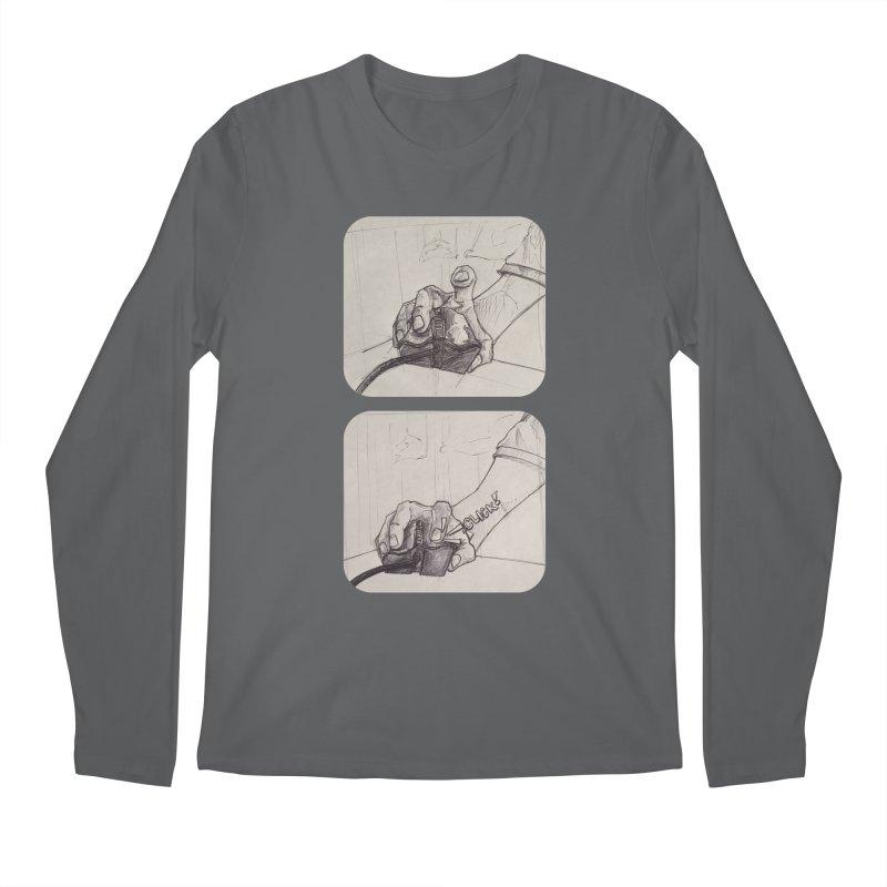 Click Me! Men's Longsleeve T-Shirt by Alexis Patino's shop