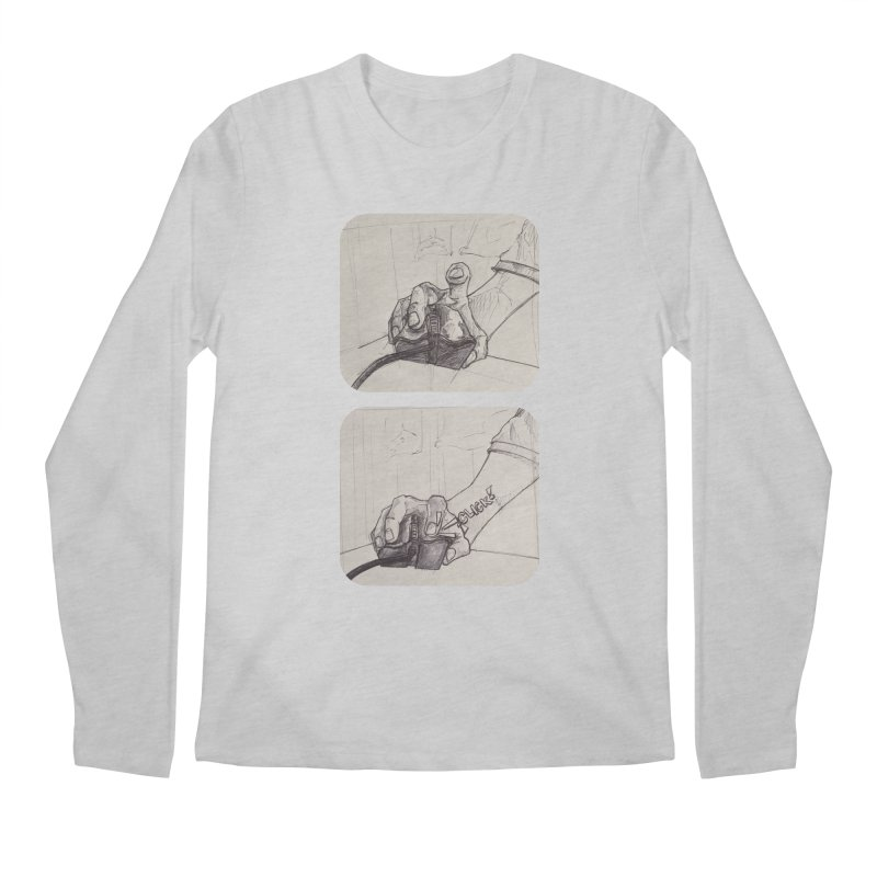 Click Me! Men's Longsleeve T-Shirt by Alexis Patino's shop