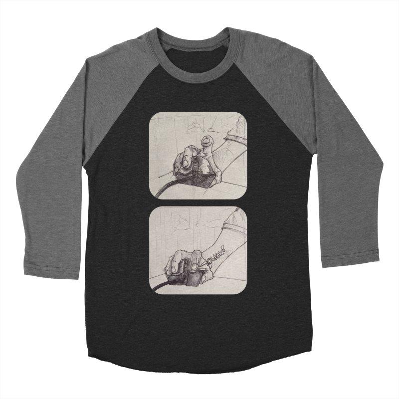 Click Me! Men's Baseball Triblend T-Shirt by Alexis Patino's shop