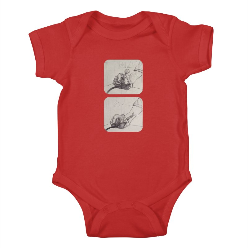 Click Me! Kids Baby Bodysuit by Alexis Patino's shop