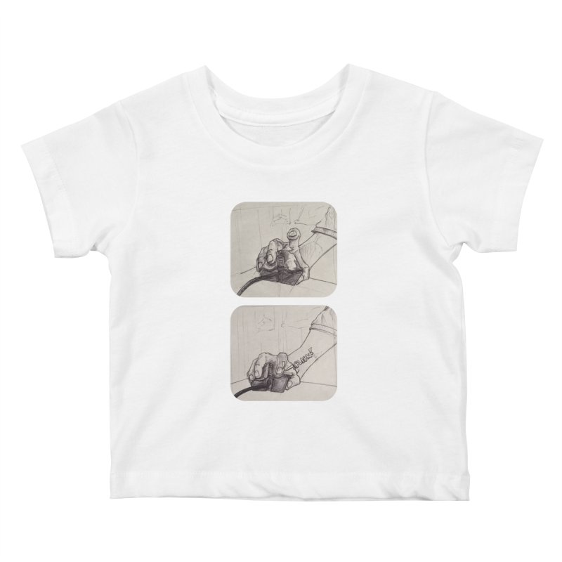 Click Me! Kids Baby T-Shirt by Alexis Patino's shop