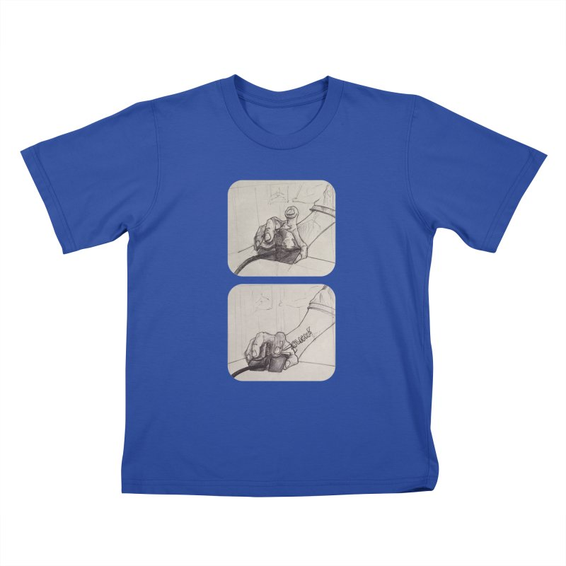 Click Me! Kids T-shirt by Alexis Patino's shop