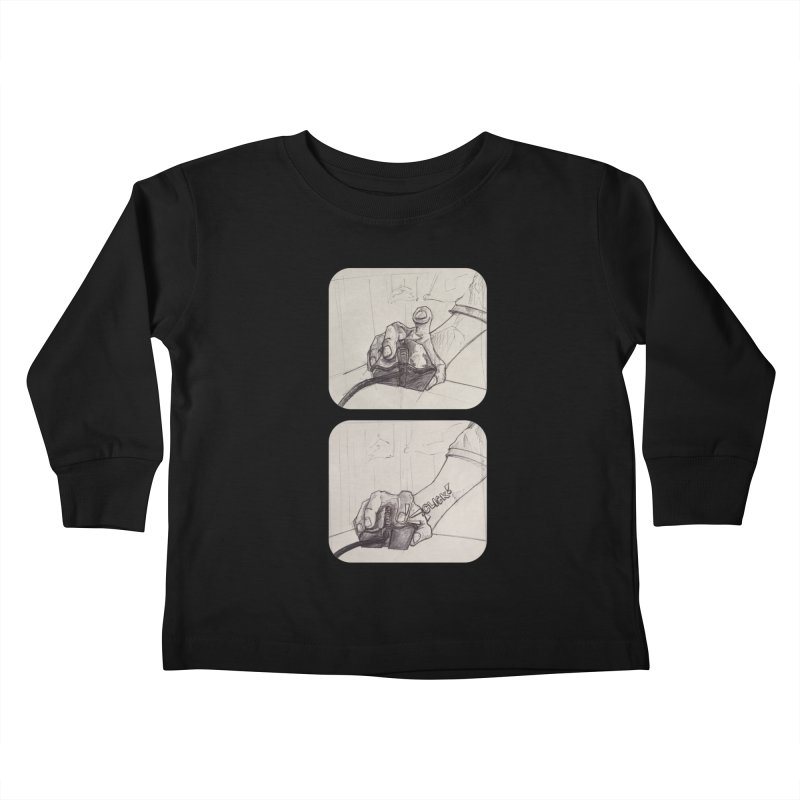 Click Me! Kids Toddler Longsleeve T-Shirt by Alexis Patino's shop