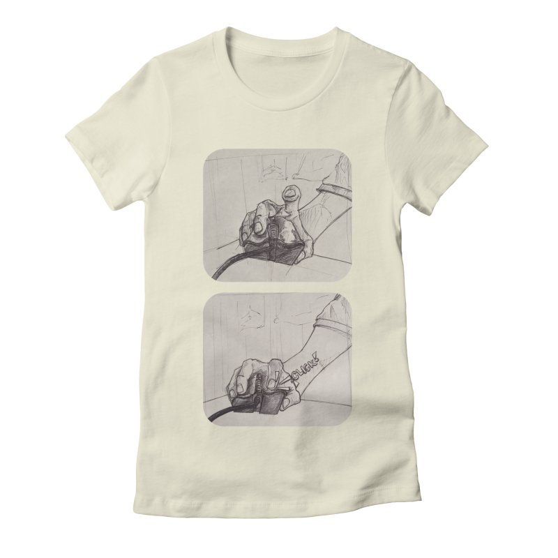 Click Me! Women's Fitted T-Shirt by Alexis Patino's shop