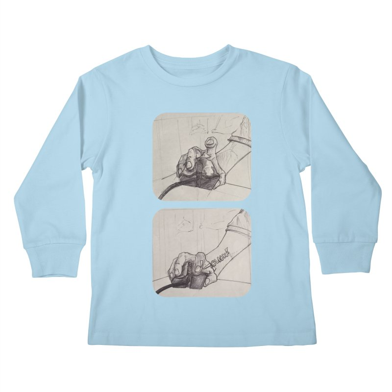 Click Me! Kids Longsleeve T-Shirt by Alexis Patino's shop
