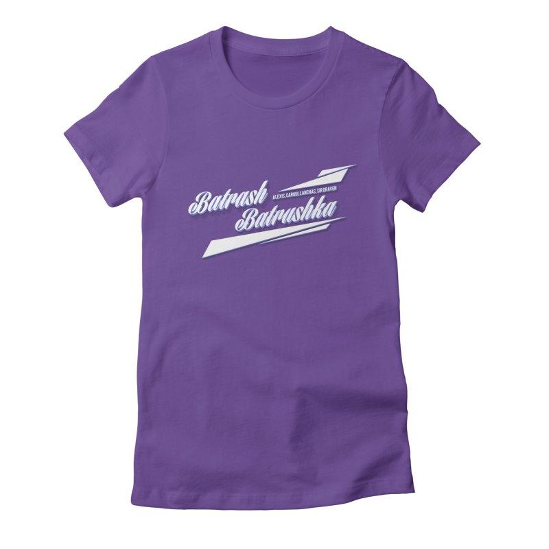 Batrash Batrushka Blitz Women's Fitted T-Shirt by Alexis Patino's shop