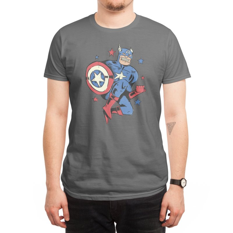 CAP Men's T-Shirt by alexledon's Artist Shop