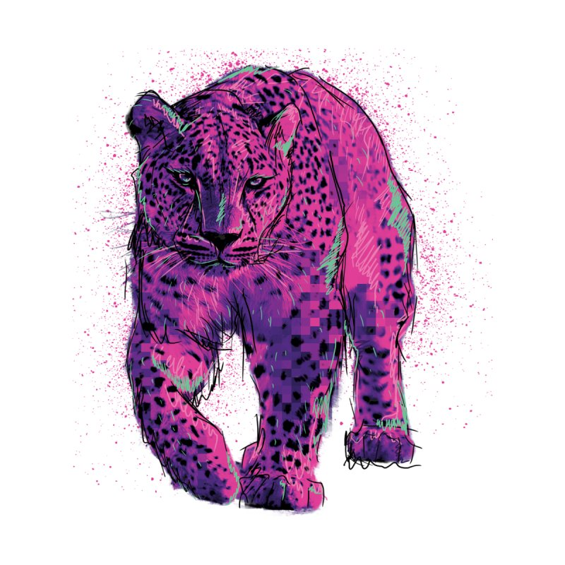 The panther colors by alexm's Artist Shop