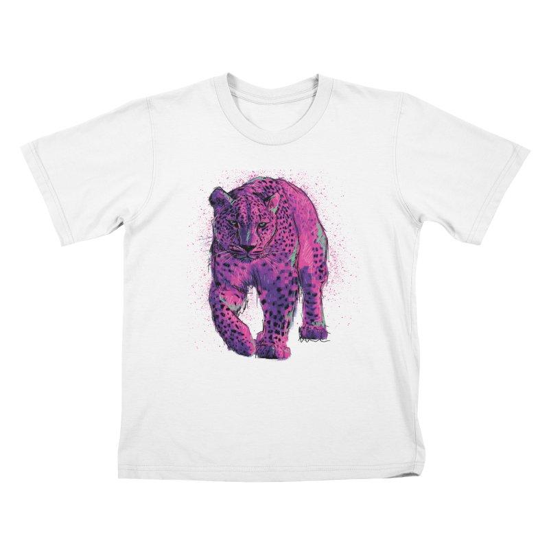 The panther colors Kids T-shirt by alexm's Artist Shop