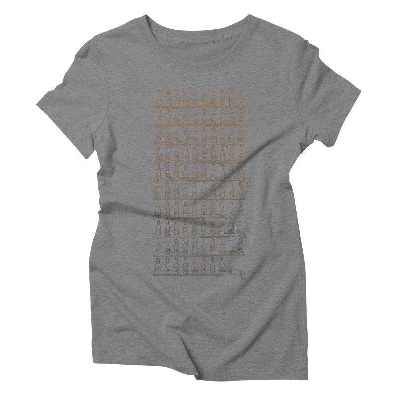 99 Bottles Women's Triblend T-Shirt by Alex MacDuff's Artist Shop