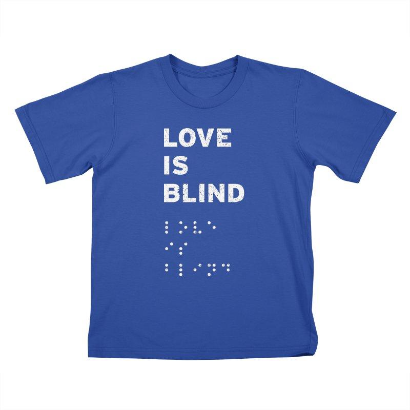 Love Is Blind Kids T-shirt by Alex MacDuff's Artist Shop