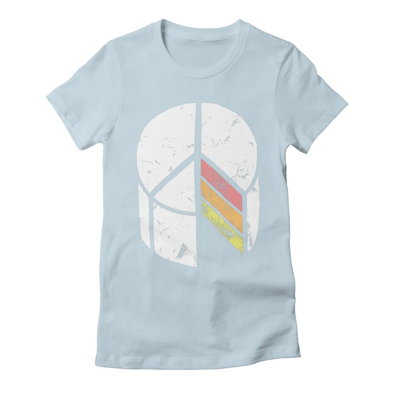 Peace of Cake Women's Fitted T-Shirt by Alex MacDuff's Artist Shop