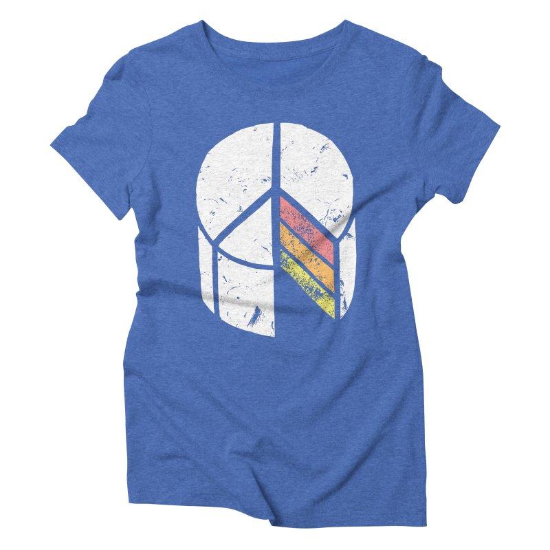 Peace of Cake Women's Triblend T-Shirt by Alex MacDuff's Artist Shop