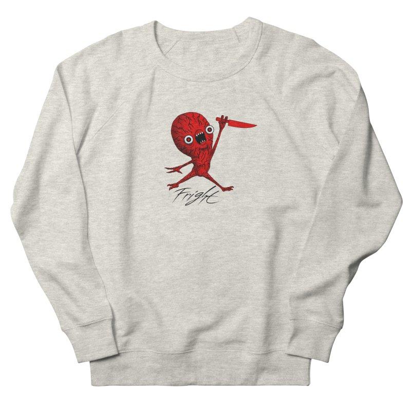 SCARE JORDAN (WHITE) Men's Sweatshirt by Alex Pardee's BRIGHTMARES