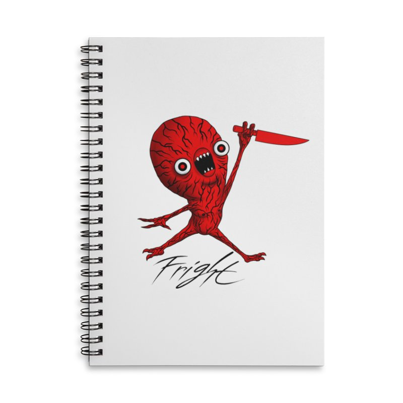 SCARE JORDAN (WHITE) Accessories Notebook by Alex Pardee's BRIGHTMARES