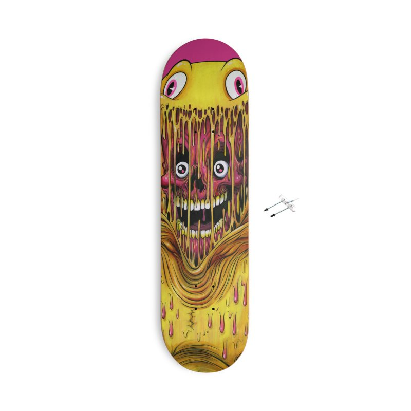 THE ASTRONAUT Accessories Skateboard by Alex Pardee's BRIGHTMARES