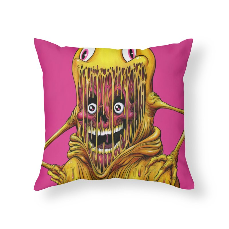 THE ASTRONAUT Home Throw Pillow by Alex Pardee's BRIGHTMARES