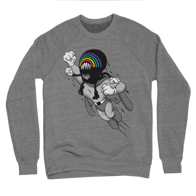 BRIGHTY MOUSE Men's Sweatshirt by Alex Pardee's BRIGHTMARES